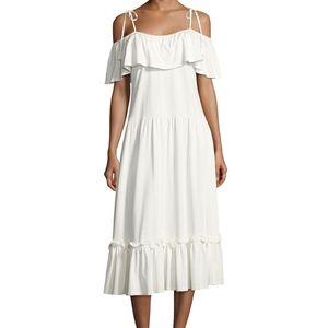 Rebecca Minkoff Mojave Cold Shoulder Maxi Dress